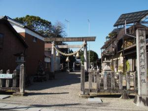 8 川俣神社(東海道 (12)庄野宿)