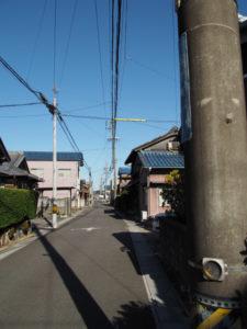 川俣神社〜庄野宿本陣跡(東海道)