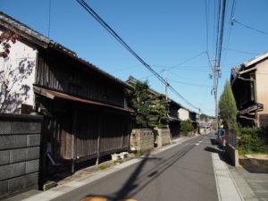3 家並み(東海道 (12)庄野宿)