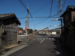 庄野町西交差点(東海道 (12)庄野宿)