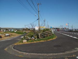 国道1号から東海道への分岐(東海道 (12)庄野宿)