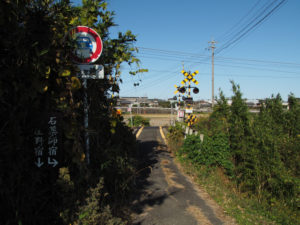 JR関西本線 山野原踏切付近