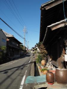 18 家並み(東海道 (11)石薬師宿)