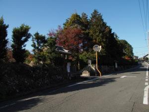 13 高富山 石薬師寺(東海道 (11)石薬師宿)