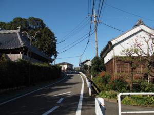 石薬師寺付近(東海道 (11)石薬師宿)