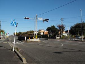 国道1号 木田町大谷交差点
