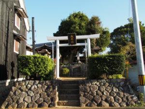 8 血塚社(東海道 (10)杖衝坂)