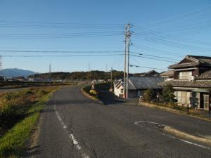 内部川堤防〜内部駅付近(東海道 (9)日永の追分)