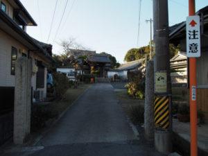 7 米田山願誓寺(東海道 (9)日永の追分)