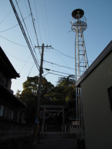 6 小許曽神社(東海道 (9)日永の追分)
