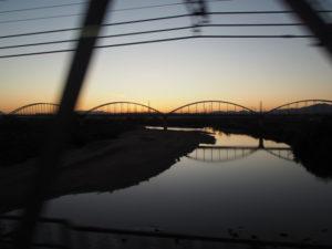 近鉄 名古屋線にての帰途