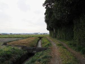 今も残る福井水路、神服織機殿神社(皇大神宮 所管社)