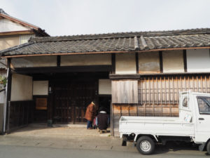 修繕が進められる 旧御師 丸岡宗大夫邸(伊勢市宮町)
