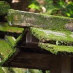 御造替はまだ始まっていなかった高河原神社(豊受大神宮 摂社)