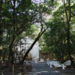 御造替が開始された高河原神社(豊受大神宮 摂社)