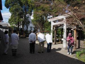 月次祭と節分祭、世木神社(伊勢市吹上)