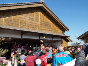 船下ろし式(開館15周年記念行事)@山田奉行所記念館