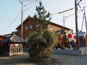 積木(ツムギ)祭場(高向大社の御頭神事)