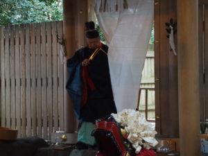 祭典(高向大社の御頭神事)