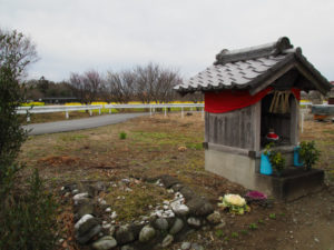 稲木神社付近の祠(松阪市稲木町)