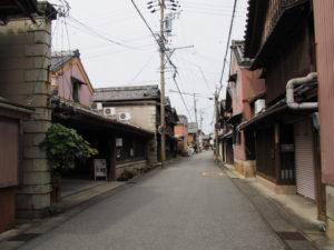モナリザ付近(伊勢市河崎)