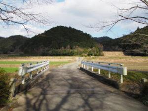 八王子川に架かる八王子橋(多気町丹生)