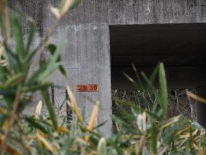伊勢自動車道の下で交差する「松阪39」