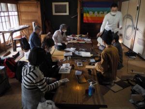 写真好学研究所「ZINEをつくる」研究成果展延期に伴う緊急会議(2020.03.01)@古民家Hibicore