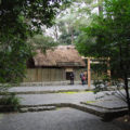 御塩焼固が始まる朝、御塩殿神社(皇大神宮 所管社)