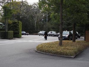 タクシー乗り場付近(外宮)