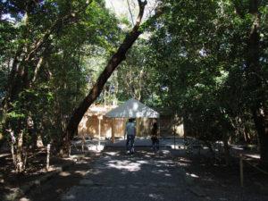 御遷座の前に、高河原神社(豊受大神宮 摂社)