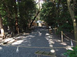 遷御に向けて諸祭儀が斎行される高河原神社(豊受大神宮 摂社)