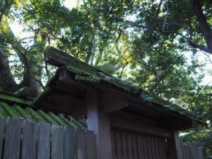 数日中に姿を消すと思われる古殿、高河原神社(豊受大神宮 摂社)