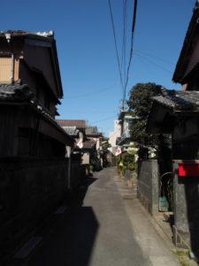 夫婦岩表参道〜堅田神社(皇大神宮 摂社)
