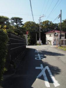 堅田神社(皇大神宮 摂社)付近