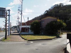 国道42号から高松稲荷へ(堅田神社付近)