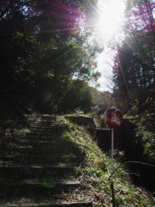 高松稲荷(伊勢市二見町茶屋)付近から音無山へ