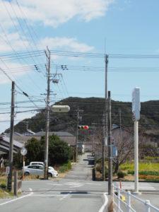 日の出橋東交差点(国道42号)