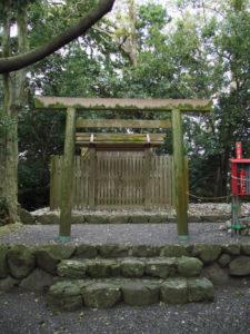 しばらくすると修繕が開始される志宝屋神社(豊受大神宮 末社)