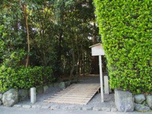 造替が開始された志宝屋神社(豊受大神宮 末社)