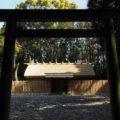 八尋殿の修繕が完了していた神麻続機殿神社(皇大神宮 所管社)