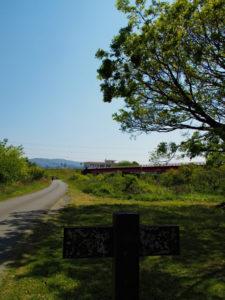 宮川ラブリバー公園から望む豊浜大橋(宮川)