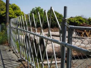 神宮司廳の貯木場(伊勢市岡本)