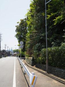 船江上社付近(伊勢市船江)
