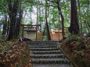 仮殿が建てられていた棒原神社(皇大神宮 摂社)