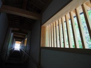 回廊、丹生山神宮寺(多気町丹生)