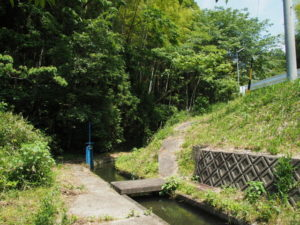 津田[土地改良区の]用水(多気町津留)