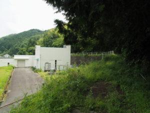 南勢水道導水ポンプ所(多気郡多気町鍬形)