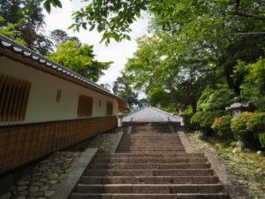 大師堂への階段(丹生山神宮寺)