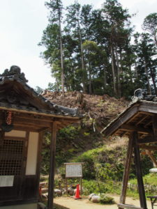 文殊堂付近(丹生山神宮寺)